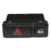 Vypínač výstražných světel s centrálním zamykáním BMW X5 E53, 61318368920
