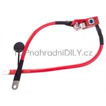 Plusový kabel, pyrotechnická pojistka akumulátoru, baterie BMW řada 4, F32, F35, F36
