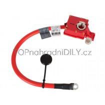 Plusový kabel, pyrotechnická pojistka akumulátoru, baterie BMW řada X1, E84 08 - 15