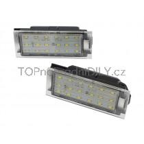 LED Osvětlení SPZ Dacia Logan II