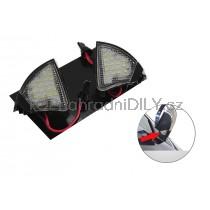LED světlo, podsvícení zpětného zrcátka, levé a pravé, VW Sharan 05-10