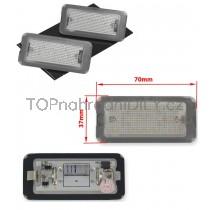 LED Osvětlení SPZ Fiat 500, 07-16
