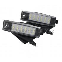 LED Osvětlení SPZ Toyota Highlander 07-13