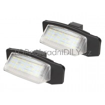 LED Osvětlení SPZ  Mitsubishi Outlander II