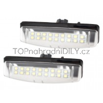 LED Osvětlení SPZ Toyota Camry