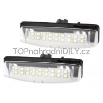 LED Osvětlení SPZ Toyota Avensis Verso