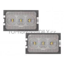 LED Osvětlení SPZ Land Rover Freelander II