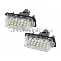 LED Osvětlení SPZ Toyota Verso