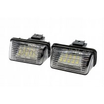 LED Osvětlení SPZ, Citroen C3 Picasso