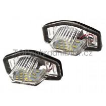 LED Osvětlení SPZ Honda Civic VII Sedan + Hatchback
