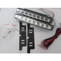 LED Denní osvětlení DRL 08, 8 LED diod, SMD5050,