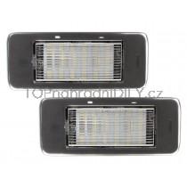 LED Osvětlení SPZ Opel Zafira C