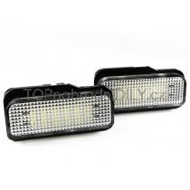 LED  Osvětlení SPZ Mercedes W211 Sedan + Combi, 02 -08