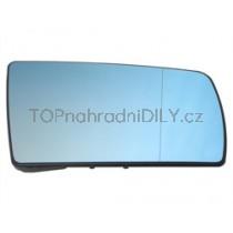 Zpětné zrcátko, vyhřívané sklo modré pravé  Mercedes W202 C-třída 93-01