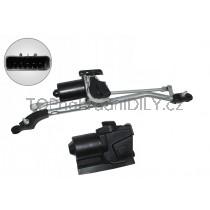 Mechanismus předních stěračů s motorkem Opel Astra G 1273028