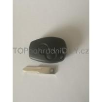 Obal klíče, autoklíč pro Dacia Lodgy, dvoutlačítkový, černý