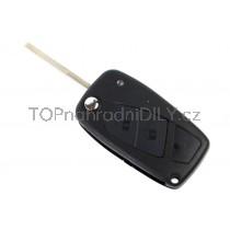 Obal klíče, autoklíč pro Fiat Grande Punto, dvoutlačítkový