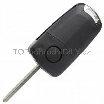 Obal klíče, autoklíč pro Opel Zafira C, dvoutlačítkový
