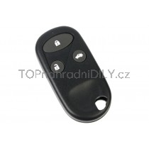Obal klíče, autoklíč pro Honda Civic, trojtlačítkový