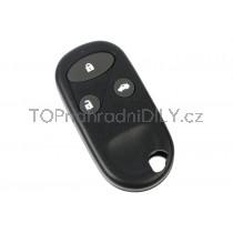 Obal klíče, autoklíč pro Honda Jazz, trojtlačítkový