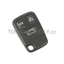 Obal klíče, autoklíč pro Volvo S60, trojtlačítkový