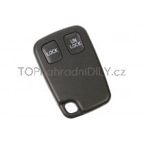 Obal klíče, autoklíč pro Volvo V70, dvoutlačítkový