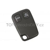 Obal klíče, autoklíč pro Volvo XC70, dvoutlačítkový