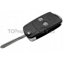 Obal klíče, autoklíč pro Toyota Urban Cruiser, dvoutlačítkový