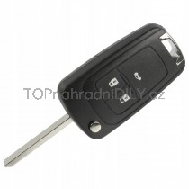 Obal klíče, autoklíč pro Opel Mokka, trojtlačítkový