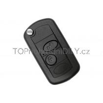 Obal klíče, autoklíč pro Land Rover Defender, dvoutlačítkový