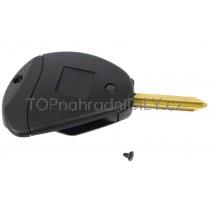 Obal klíče, autoklíč pro Peugeot 806, dvoutlačítkový