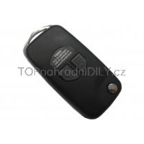 Obal klíče, holoklíč pro Suzuki SX4, dvoutlačítkový