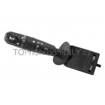 Vypínač, přepínač, ovládání světel, páčky směrovky, vypínač předních a zadních mlhovek +klakson Peugeot 306