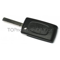 Obal klíče, autoklíč pro Citroen C6 třítlačítkový