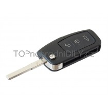 Obal klíče, autoklíč pro Ford Ka, trojtlačítkový