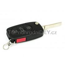 Obal klíče, autoklíč pro Audi A2 ojtlačítkový