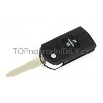 Obal klíče, autoklíč pro Mazda 3, dvoutlačítkový