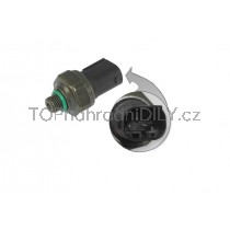 Snímač, čidlo, senzor, spínač tlaku klimatizace BMW F33, F36 řada 4, 64536909257