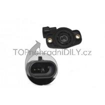 Snímač polohy škrticí klapky Fiat Tempra, 7710044743