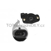 Snímač polohy škrticí klapky Fiat Tipo, 7710044743