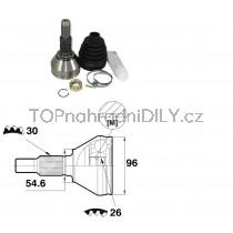 Sada kloubů hnacího hřídele pro Opel Insignia, 93173410