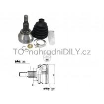 Sada kloubů hnacího hřídele pro VW Crafter, 7H0498099