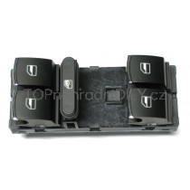 Ovládání vypínač stahování oken VW Caddy, chrom, 5ND959857