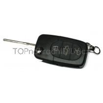 Obal klíče, autoklíč pro VW T5 třítlačítkový
