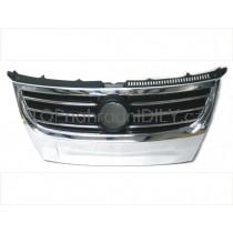Přední maska chladiče pro Volkswagen Touran, rok výroby 2006 - 2010, přední strana