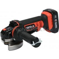 Akumulátorová úhlová bruska YATO, 125mm