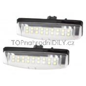 LED Osvětlení SPZ Lexus ES330