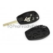 Obal klíče, autoklíč pro Renault Trafic, dvoutlačítkový
